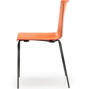 tweet stoel oranje 4-poots