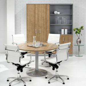ronde vergadertafel 120 cm Bureaustoelen MKB